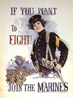 If You Want to Fight! Fine-Art Print