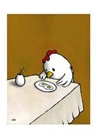 I Asked for Scrambled (Chicken) Fine-Art Print
