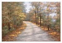 Walking in Fall Fine-Art Print