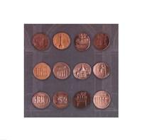 Roman Coins I Fine-Art Print