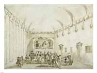 A Theatrical Performance Fine-Art Print