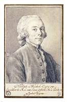 Portrait of Nicolas Michel Cury Fine-Art Print