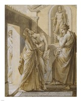 The Father of Psyche Consulting the Oracle of Apollo Fine-Art Print