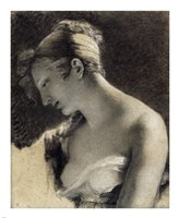 Head of a Woman: Study for The Happy Mother Fine-Art Print