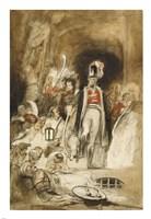 Study for Sir David Baird Discovering the Body of Tipu Sahib Fine-Art Print