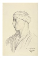 Portrait of an Egyptian Fellah Fine-Art Print