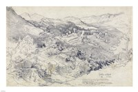 View from Civitella Fine-Art Print