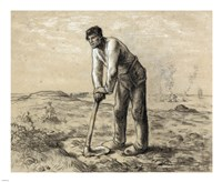 Man with a Hoe Fine-Art Print