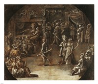 Marriage of a Patrician Couple Fine-Art Print