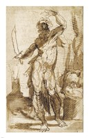 Study for the Figure of Abraham Fine-Art Print