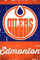 Edmonton Oilers - Retro Logo 13 Wall Poster