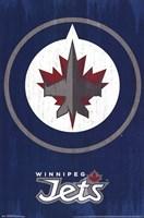 Winnipeg Jets - Logo 13 Wall Poster