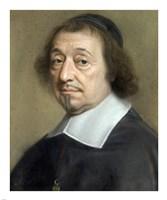 Portrait of Monseigneur Louis Doni d'Attichy, Bishop of Riez Fine-Art Print
