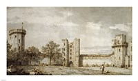 Warwick Castle: The East Front from the Courtyard Fine-Art Print