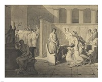 The Lictors Carrying Away the Bodies of the Sons of Brutus Fine-Art Print