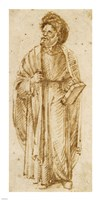 Standing Man Wearing A Turban Fine-Art Print