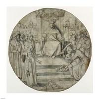 The Judgment of Solomon Fine-Art Print