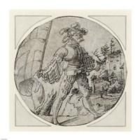 A Standard Bearer before a Castle Fine-Art Print