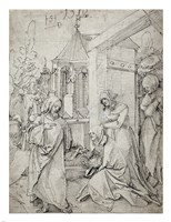 Christ Taking Leave of His Mother Fine-Art Print