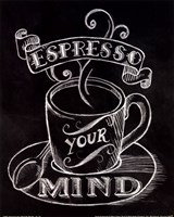Espresso Your Mind No Border Fine-Art Print