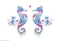 Sea Horses in Love Fine-Art Print