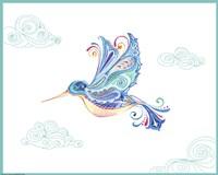 Jane Hummingbird Fine-Art Print