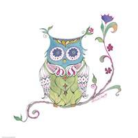 Owl Branch Fine-Art Print