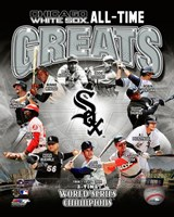 Chicago White Sox All Time Greats Composite Fine-Art Print