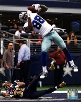 Dez Bryant 2013 in Action Fine-Art Print