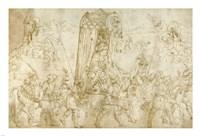 A Turkish Procession Fine-Art Print