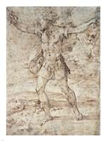 David with the Head of Goliath Fine-Art Print
