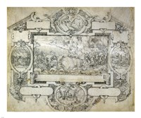 The Destruction of Pharoah's Army Fine-Art Print