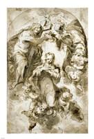 The Coronation of the Virgin Fine-Art Print