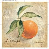 L'Orange Framed Print