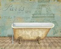Voyage Romantique Bath I Fine-Art Print