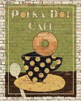 Polka Dot Cafe Fine-Art Print