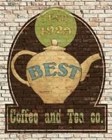 Best Coffee and Tea Fine-Art Print