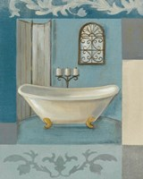 Antique Bath I Fine-Art Print