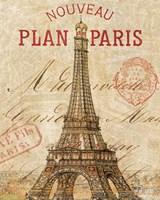 Letter from Paris Framed Print