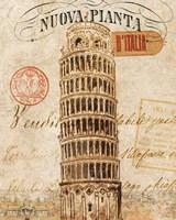 Letter from Pisa Framed Print