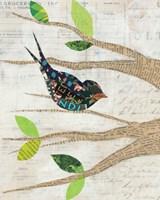 Birds in Spring III Fine-Art Print