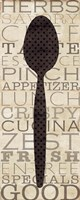 Kitchen Words II Fine-Art Print