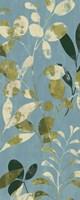 Leaves on Blue II Fine-Art Print