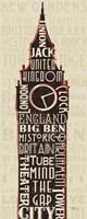 London City Words II Fine-Art Print