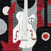 Rock 'n Roll Guitars Fine-Art Print