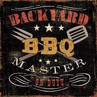 Backyard BBQ Fine-Art Print