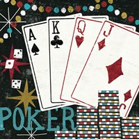Vegas - Cards Fine-Art Print