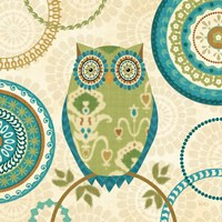 Owl Forest I Fine-Art Print