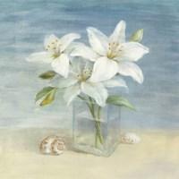Lilies and Shells Fine-Art Print