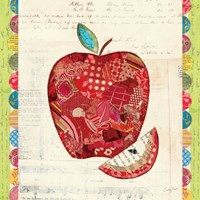 Fruit Collage I - Apple Fine-Art Print